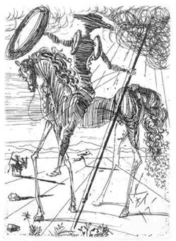 Salvador Dali - Don Quijote (1971)