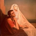 O êxtase de Agostinho e Mônica
