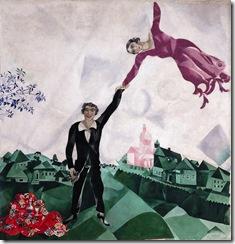 Chagall - Passeio (1917)