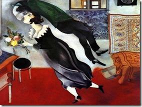 Chagall - Aniversário (1915)