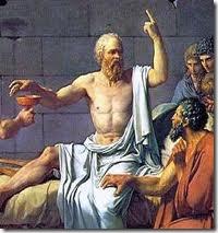 Sócrates recebe a cicuta