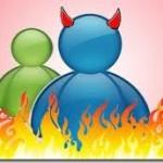 Márcia e o desconhecido do MSN