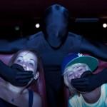 Ninjas na sala de cinema
