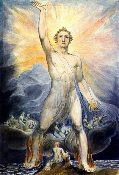 Angel of Revelation, by William Blake