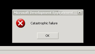 Catastrophical failure
