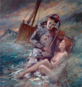 Shipwrecked Couple